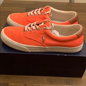 Polo orange sneakers